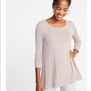Lot of 4 Old Navy Luxe long sleeve tops - L